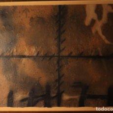 Arte: ANTONI TAPIES. EXCEPCIONAL GRABADO CARBORUNDUM 90X63 -MATTIERE.FIRMADO Y NUMERAD A MANO POR EL ARTIS. Lote 138639574