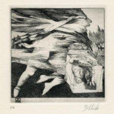 Arte: ÁNGEL BELLIDO. AGUAFUERTE. 1977. Lote 138803758