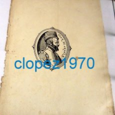 Arte: GRABADO DE JUAN DE AUSTRIA, 17X23 CMS. Lote 139525266