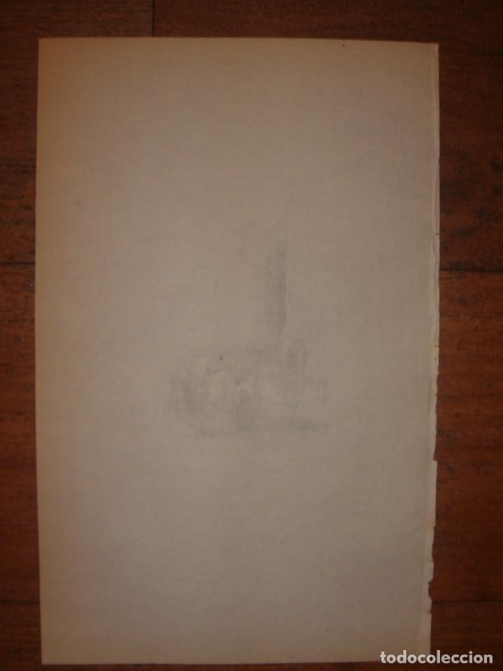 Arte: INFRECUENTE XILOGRAFÍA PLAZA BIRRAMBLA, GRANADA, ORIGINAL, 1835, DAVID ROBERTS, 1ªEDICIÓN. - Foto 6 - 139611526