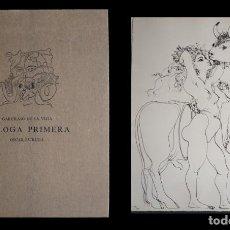 Arte: GARCILASO DE LA VEGA - OSCAR ESTRUGA. EGLOGA PRIMERA. 12 AGUAFUERTES. RAFAEL CASARIEGO EDITOR 1978. Lote 140082026
