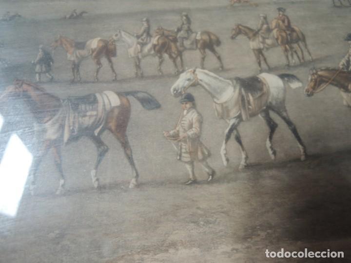 Arte: GRABADO ANTIGUO ENMARCADO P. FILLERMANNS DE KING GEORGE 1st. at NEWMARKET 1722 - Foto 18 - 140326054