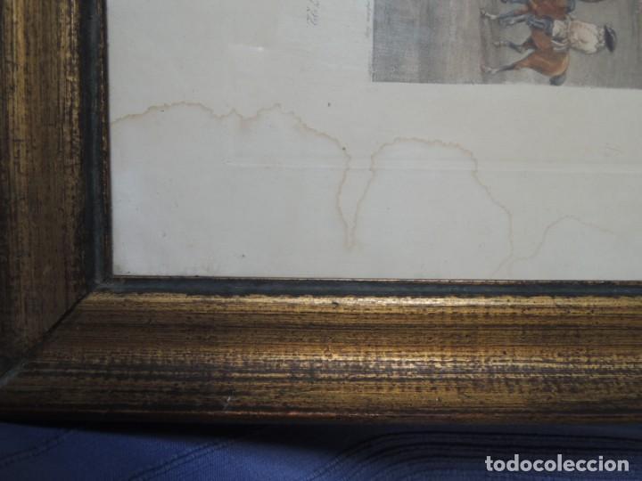 Arte: GRABADO ANTIGUO ENMARCADO P. FILLERMANNS DE KING GEORGE 1st. at NEWMARKET 1722 - Foto 22 - 140326054