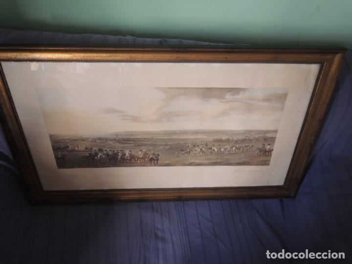 Arte: GRABADO ANTIGUO ENMARCADO P. FILLERMANNS DE KING GEORGE 1st. at NEWMARKET 1722 - Foto 27 - 140326054
