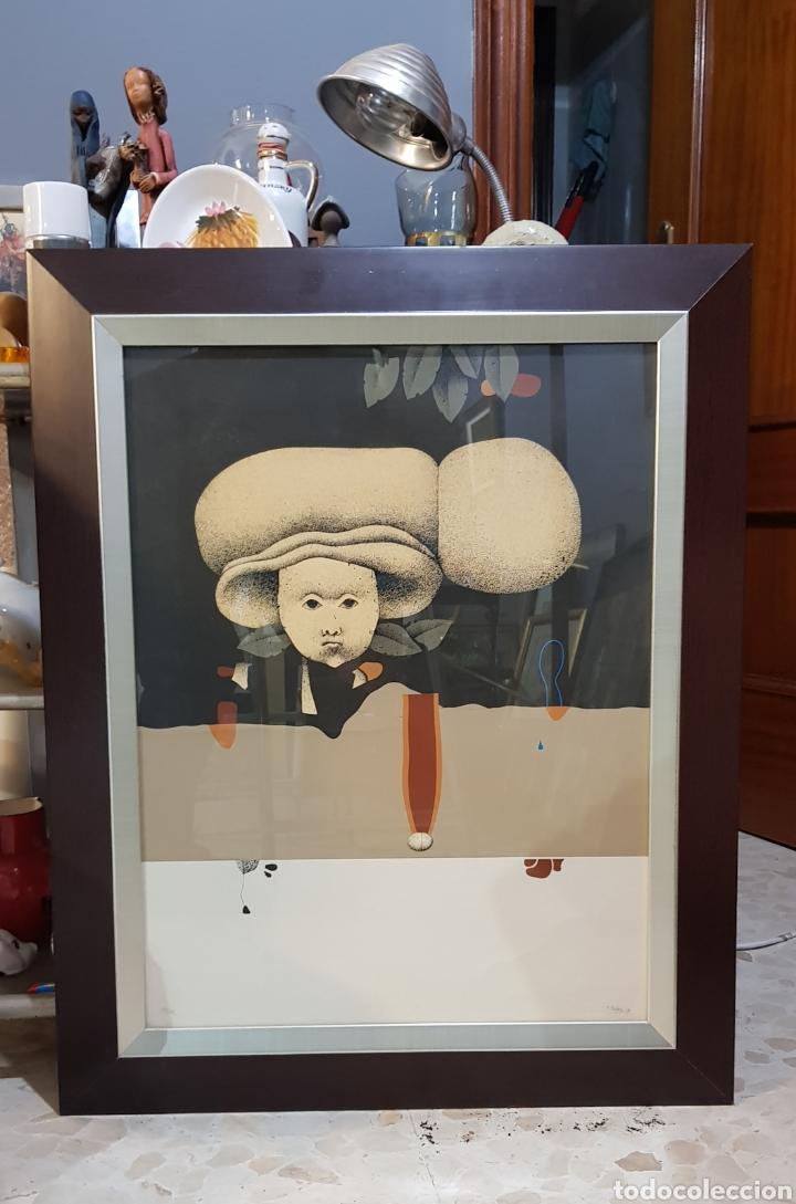 JUAN BEJAR (MÁLAGA 1946), PRECIOSA OBRA GRAFICA NUMERADA Y FIRMADA. (Arte - Grabados - Contemporáneos siglo XX)