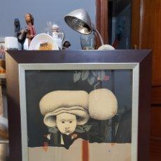 Arte: JUAN BEJAR (MÁLAGA 1946), PRECIOSA OBRA GRAFICA NUMERADA Y FIRMADA.. Lote 140704176