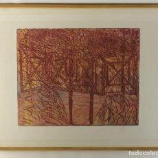 Arte: ISABEL SERRAHIMA GRABADO AL AGUAFUERTE P/A COMPOSICIÓN FIRMADO 1989. Lote 140765238