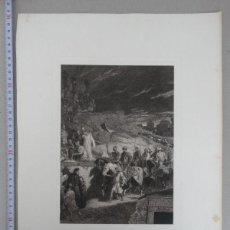 Arte: PRECIOSO GRABADO EN MEZZOTINTA DE ALEXANDRE BIDA (1813-1895) FIRMADO, ALREDEDOR DE 1860, 41X30,5 CMS. Lote 140837478