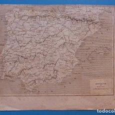 Arte: ESPAÑA Y PORTUGAL, TH. DUVOTENAY - PRECIOSO GRABADO - AÑOS 1860-1890. Lote 140974862