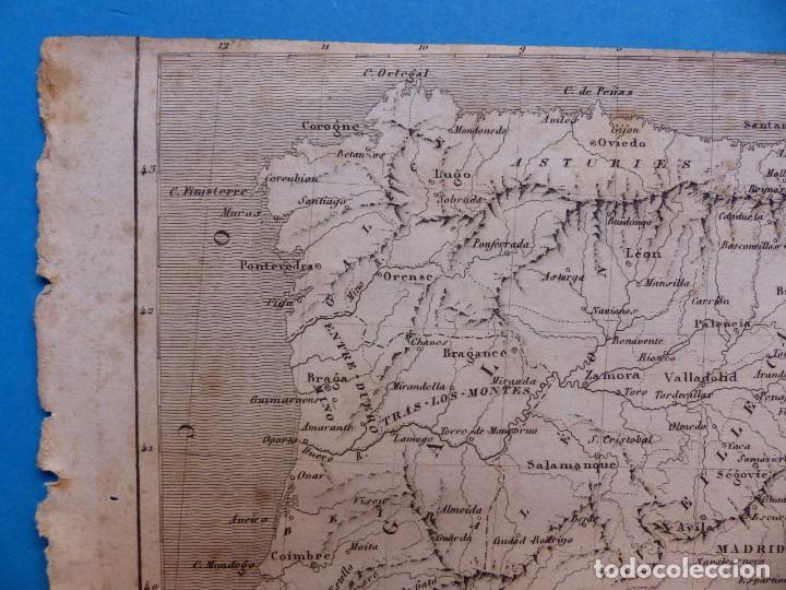 Arte: ESPAÑA Y PORTUGAL, TH. DUVOTENAY - PRECIOSO GRABADO - AÑOS 1860-1890 - Foto 4 - 140974862