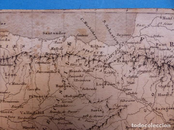 Arte: ESPAÑA Y PORTUGAL, TH. DUVOTENAY - PRECIOSO GRABADO - AÑOS 1860-1890 - Foto 8 - 140974862