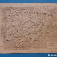Arte: ESPAÑA Y PORTUGAL, TH. DUVOTENAY - PRECIOSO GRABADO - AÑOS 1860-1890. Lote 140974982