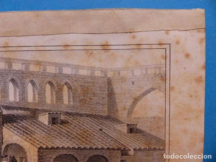 Arte: ACCION DE SANTA LUCIA - PRECIOSO GRABADO - AÑOS 1860-1890 - Foto 5 - 140977250