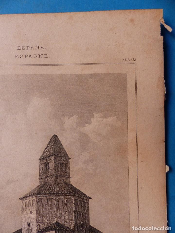 Arte: GERONA, IGLESIA DE SAN NICOLAS - PRECIOSO GRABADO - AÑOS 1860-1890 - Foto 4 - 140977542