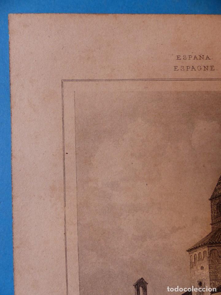 Arte: GERONA, IGLESIA DE SAN NICOLAS - PRECIOSO GRABADO - AÑOS 1860-1890 - Foto 5 - 140977542