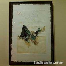 Arte: GRABADO LUCIO MUÑOZ G F Nº2. MARCO DE ARTISTA. Lote 141136650