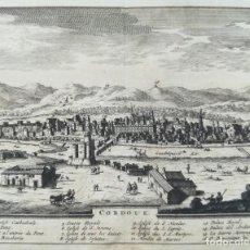 Arte: GRABADO DE CORDOBA - VAN DER AA - AÑO 1715 - ORIGINAL. Lote 141227130