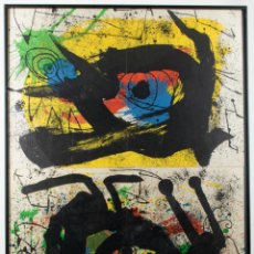 Arte: JOAN MIRÓ (BARCELONA, 1893 - PALMA DE MALLORCA, 1983)SIN TÍTULO. Lote 141283849