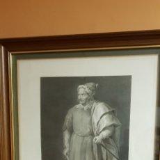 Arte: BARBA ROJA.GRAVADO.1799. Lote 141375704