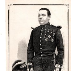 Arte: MOSSOS D'ESQUADRA,POLICIA CATALUÑA,GRABADO SIGLO XIX,AÑO1859,D.JOSE ANTONIO VIDAL,COMANDANTE 1860. Lote 141858126