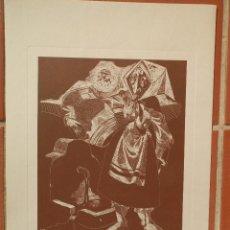 Arte: 6 GRABADOS DE JUAN ANTONIO ALDA. ESPAÑA Y SUS GENTES. EN CARPETA IBERIA.. Lote 141939302