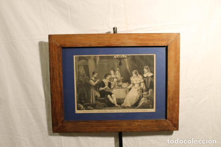 LITOGRAFÍA RIZZO ES ASESINADO (Arte - Grabados - Modernos siglo XIX)