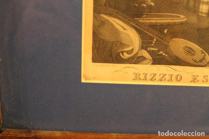 Arte: LITOGRAFÍA RIZZO ES ASESINADO - Foto 3 - 142034994
