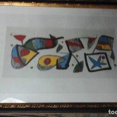 Arte: GRABADO JOAN MIRO. Lote 142504994