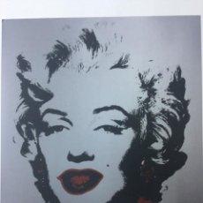 Arte: GRABADO ORIGINAL DE ANDY WARHOL,MARILYN MONROE,NUMERADO A LAPIZ,CON FIRMA Y MARCA DE AGUA,57X38 CMS. Lote 142644098