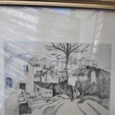 Arte: ANNE MARIE DE COURLON. GRABADO. FIRMADO Y NUMERADO A LÁPIZ.. Lote 142758601