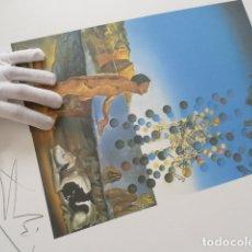 Arte: SALVADOR DALI -GRABADO FIRMADO Y NUMERADO 65X50CM --- LIQUIDACIÓN !!!!. Lote 142894862