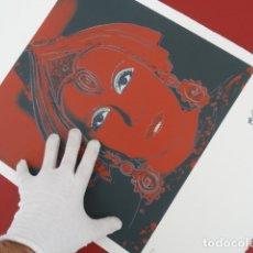 Arte: LITOGRAFIA DE ANDY WARHOL, NUMERADA A LAPIZ, CON FIRMA Y MARCA DE AGUA -INTERÉS PICASSO, DALI, MIRO. Lote 142895817
