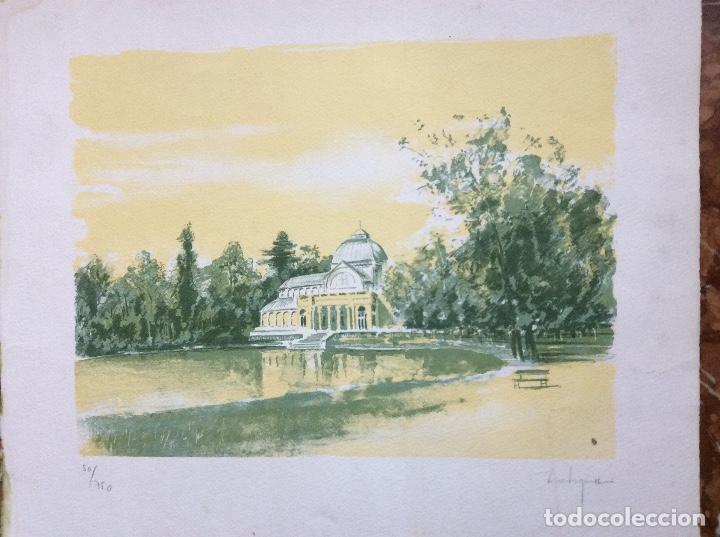 GRABADO DE CASTIGNANI FIRMADA A MANO POR EL PROPIO ARTISTA. (Arte - Grabados - Contemporáneos siglo XX)