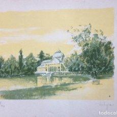 Arte: GRABADO DE CASTIGNANI FIRMADA A MANO POR EL PROPIO ARTISTA.. Lote 142968394