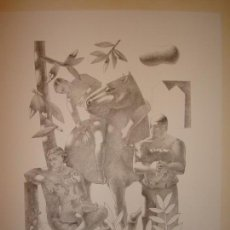 Arte: GRABADO DE JORGE GAY.PINTOR ZARAGOZA.. Lote 142988354