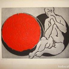 Arte: GRABADO POR EL ARTISTA ARAGONÉS PASCUAL BLANCO.. Lote 142988794