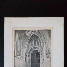 Arte: GRABADO DE LA SAGRADA FAMILIA 1908. Lote 143202490