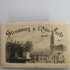 Arte: CARTAS POSTALES SERIE STRASBOURG. PINTOR CH. PINET (1867-1932). Lote 143287230
