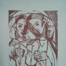 Arte: LINOGRABADO SOBRE PAPEL FIRMADO A LÁPIZ, RAIMON ROCA, RICARD (1917-2013). Lote 143351288