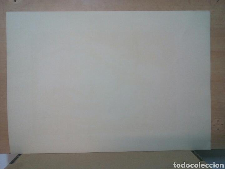 Arte: Linóleo firmado a lápiz, David Graells Montull. Pintor y dibujante nacido en Sabadell en 1910. - Foto 4 - 143351804