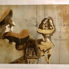Arte: JORGE CASTILLO - GRABADO SOBRE PAPEL - FIRMADO. Lote 143374854