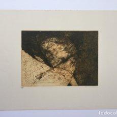 Arte: ENRIQUE BRINKMANN , GRABADO ORIGINAL FIRMADO Y CON JUSTIFICACION DE TIRADA. Lote 72067335
