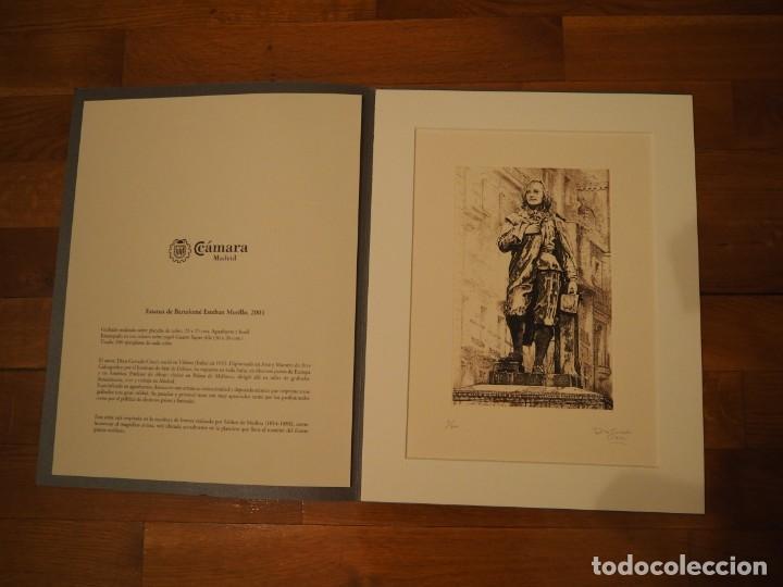 DINO CORRADO CIACCI. GRABADO BARTOLOMÉ ESTEBAN MURILLO. FIRMADO Y NUMERADO 7/300. 2001 (Arte - Grabados - Contemporáneos siglo XX)
