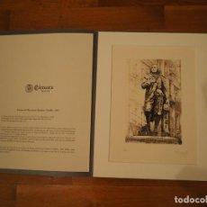 Arte: DINO CORRADO CIACCI. GRABADO BARTOLOMÉ ESTEBAN MURILLO. FIRMADO Y NUMERADO 7/300. 2001. Lote 143598358