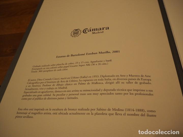 Arte: Dino Corrado Ciacci. Grabado Bartolomé Esteban Murillo. Firmado y Numerado 7/300. 2001 - Foto 3 - 143598358