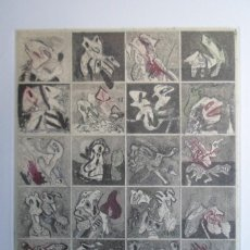 Arte: BONIFACIO (SAN SEBASTIÁN 1933-2011) GRABADO COLORES 29X34 PAPEL 45X54CMS FIRMADO LÁPIZ 1976 Y 12/12 . Lote 143765510