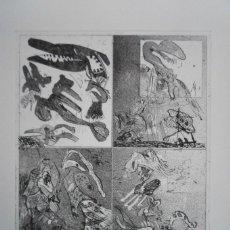 Arte: BONIFACIO (SAN SEBASTIÁN 1933-2011) GRABADO 29X34 PAPEL 45X54CMS FIRMADO LÁPIZ 1976 Y 12/60 SOLAMENT. Lote 143766498