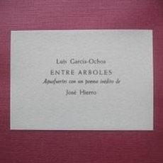 Arte: CARPETA 8 GRABADOS GARCIA OCHOA. ENTRE ARBOLES JOSE HIERRO EDITOR CASARIEGO. Lote 143786422