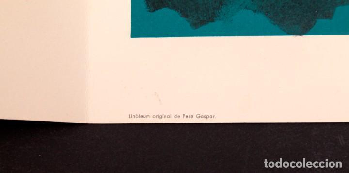 Arte: JOAN GASPAR - LINOLEO - 1961 - Foto 4 - 144200866
