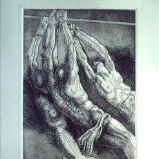 Arte: RICARDO ZAMORANO (VALENCIA, 1924) GRABADO FIRMADO A LÁPIZ Y NUMERADO 51/80. Lote 38011406